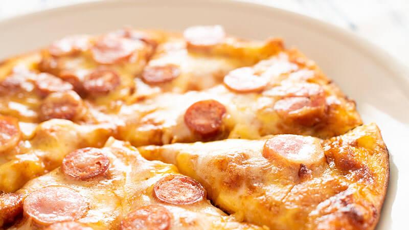 菊芋のピザ