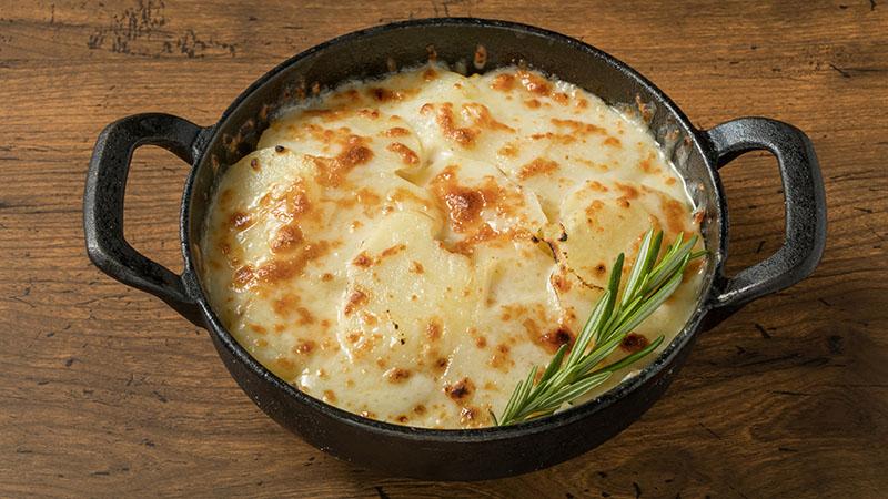 菊芋チーズのせオーブン焼き