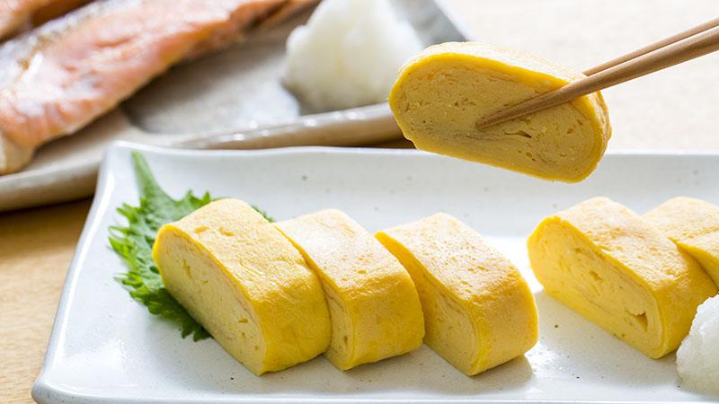 菊芋のふわふわ卵焼き